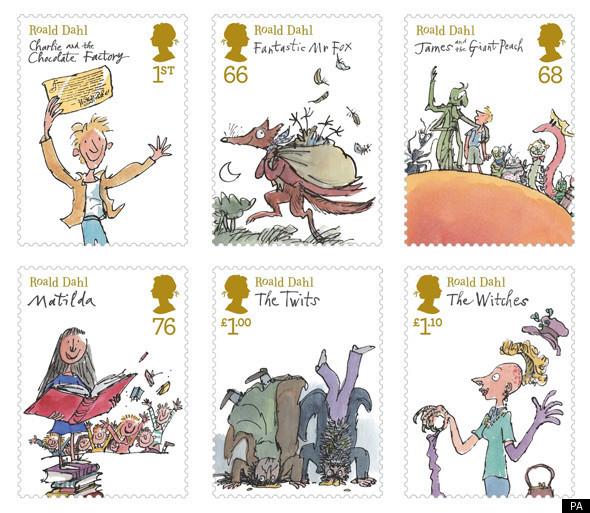 roald-dahl-stamps